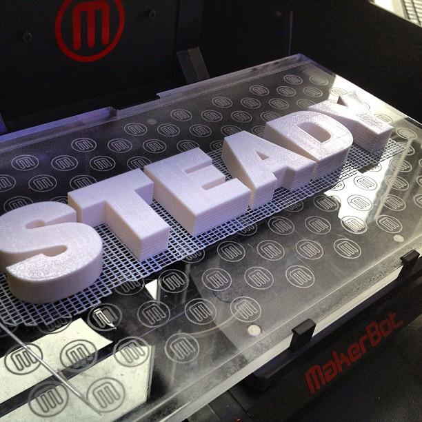steady 3D printing heart