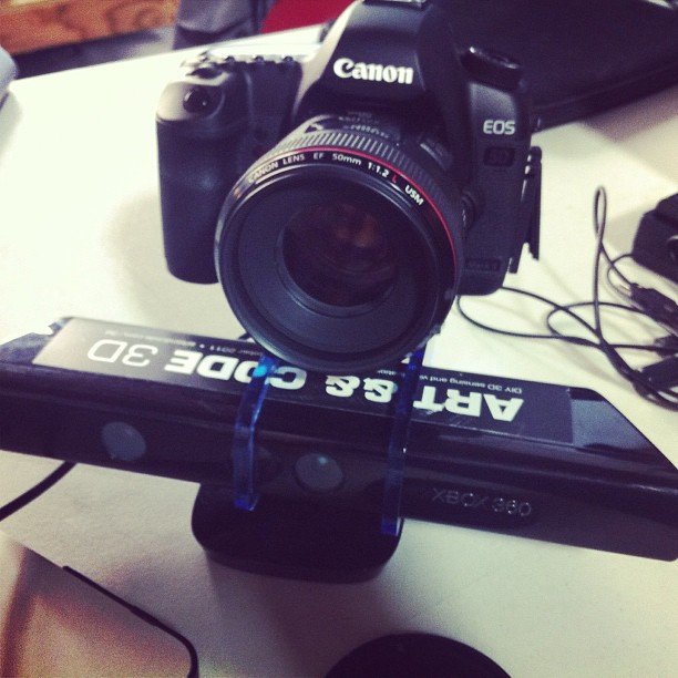 steady rgb+d camera setup