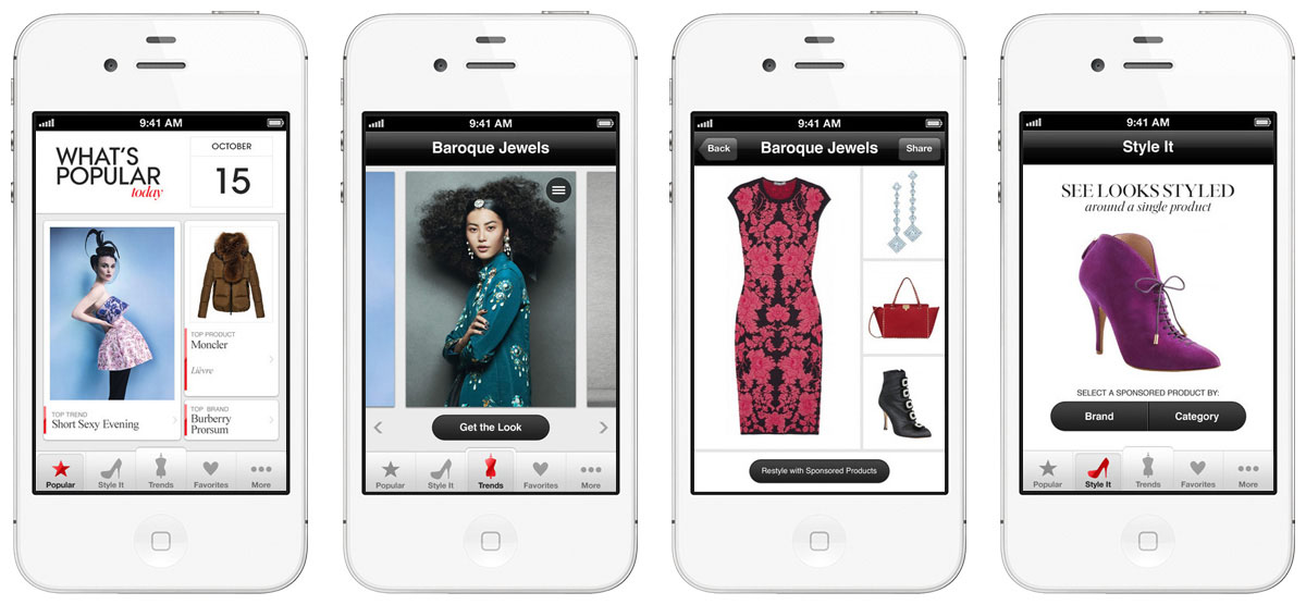steady vogue stylist iOS