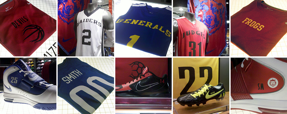 steady nike id retail customiation products