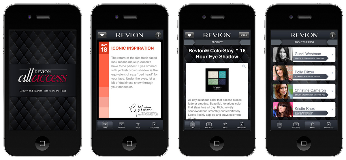 steady revlon all access iOS